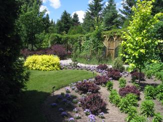 Rencontre au jardin scullion l 39 ascension au lac st for Croquis jardin paysager
